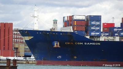 CMA CGM SAMSON Inbound Southampton PDM 09-04-2016 15-10-52