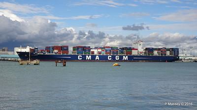 CMA CGM SAMSON Inbound Southampton PDM 09-04-2016 15-11-20