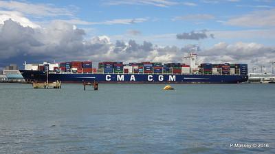 CMA CGM SAMSON Inbound Southampton PDM 09-04-2016 15-11-24