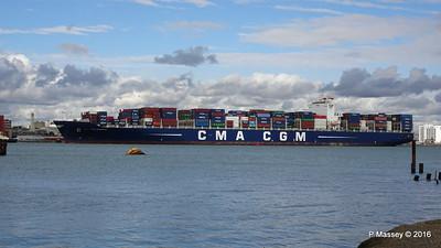 CMA CGM SAMSON Inbound Southampton PDM 09-04-2016 15-10-41