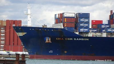 CMA CGM SAMSON Inbound Southampton PDM 09-04-2016 15-10-54