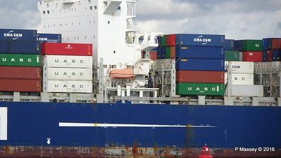 CMA CGM SAMSON Inbound Southampton PDM 09-04-2016 15-11-10