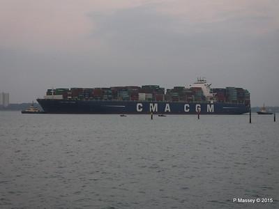 14 Mar 2015 CMA CGM TITAN Inbound Southampton