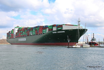 EVER LISSOME Departing Southampton PDM 26-04-2017 12-08-14