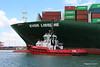 SD SHARK EVER LISSOME Departing Southampton PDM 26-04-2017 12-04-47