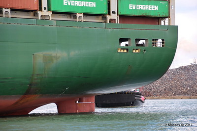 EVER LISSOME Departing Southampton PDM 26-04-2017 12-03-14