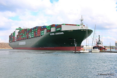 EVER LISSOME Departing Southampton PDM 26-04-2017 12-07-55