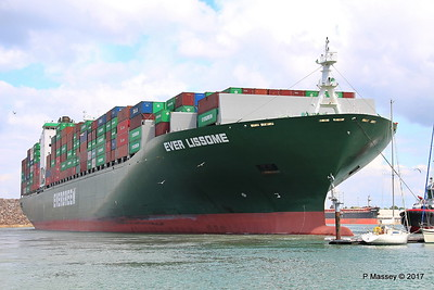EVER LISSOME Departing Southampton PDM 26-04-2017 12-07-39