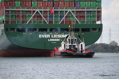 SMIT TIGER EVER LISSOME Departing Southampton PDM 26-04-2017 11-57-07