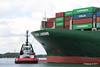 SD SHARK EVER LISSOME Departing Southampton PDM 26-04-2017 12-03-44