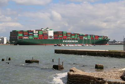 EVER LISSOME Departing Southampton PDM 26-04-2017 12-29-06