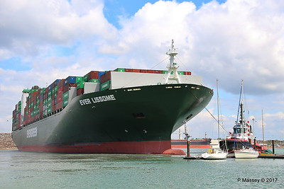 EVER LISSOME Departing Southampton PDM 26-04-2017 12-07-32
