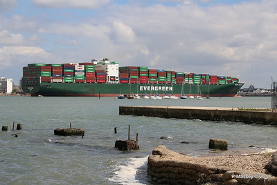 EVER LISSOME Departing Southampton PDM 26-04-2017 12-29-07