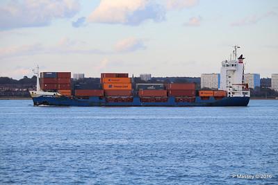 16 Apr 2016 ATLANTIC COMET Inbound Southampton