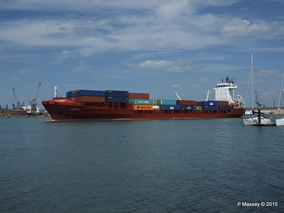 CANOPUS Arriving Southampton PDM 21-05-2015 13-00-22
