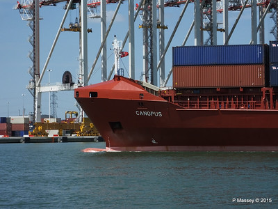 CANOPUS Arriving Southampton PDM 21-05-2015 13-01-08