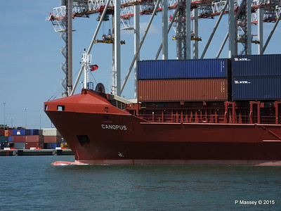 CANOPUS Arriving Southampton PDM 21-05-2015 13-01-12