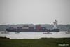 Heavy Rain CONMAR GULF Inbound Southampton PDM 23-06-2016 17-56-002