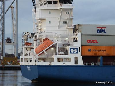 FENJA Outbound Southampton PDM 17-01-2015 15-54-14