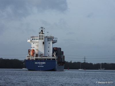ICE RUNNER Arriving Southampton PDM 20-12-2013 12-16-15