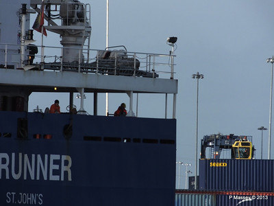 ICE RUNNER Arriving Southampton PDM 20-12-2013 12-14-18