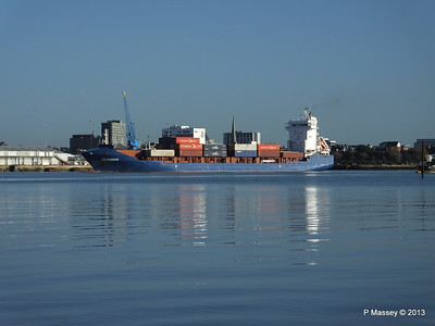 ICE RUNNER Arriving Southampton PDM 29-12-2013 12-14-35