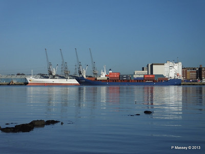 ICE RUNNER Arriving Southampton PDM 29-12-2013 12-17-09