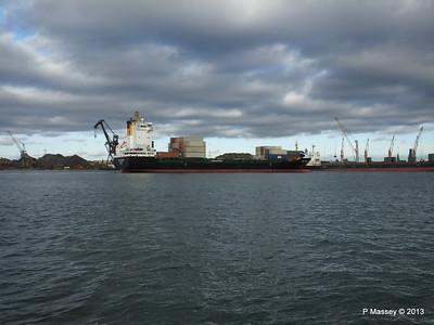 VEGA STOCKHOLM Departing Southampton PDM 06-12-2013 13-36-41