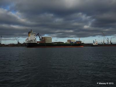 VEGA STOCKHOLM Departing Southampton PDM 06-12-2013 13-36-30