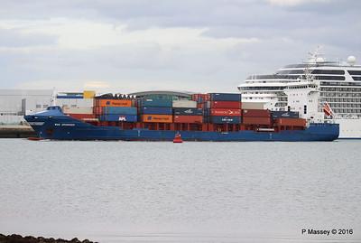 WMS GRONINGEN Arriving Southampton PDM 04-08-2016 18-47-41