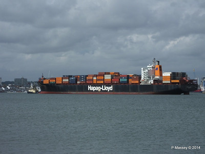BOSTON EXPRESS Arriving Southampton PDM 05-07-2014 16-21-02