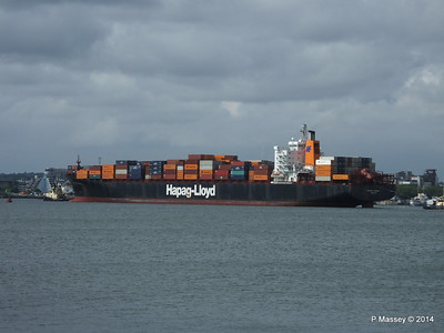 BOSTON EXPRESS Arriving Southampton PDM 05-07-2014 16-22-04