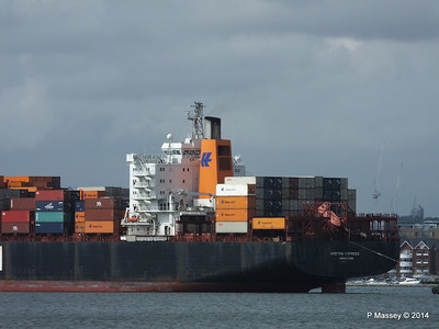 BOSTON EXPRESS Arriving Southampton PDM 05-07-2014 16-22-42