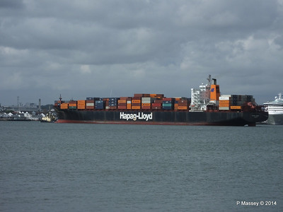 BOSTON EXPRESS Arriving Southampton PDM 05-07-2014 16-21-27
