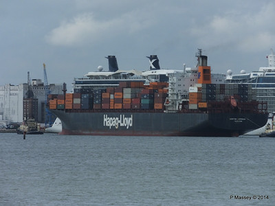 BOSTON EXPRESS Passing CELEBRITY ECLIPSE Southampton PDM 05-07-2014 16-27-43