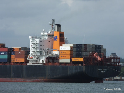 BOSTON EXPRESS Arriving Southampton PDM 05-07-2014 16-22-30