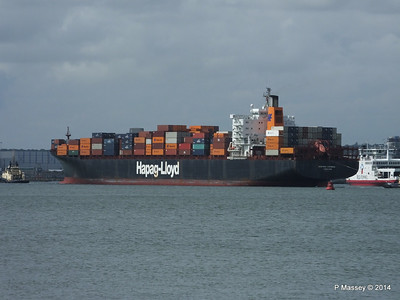 BOSTON EXPRESS Arriving Southampton PDM 05-07-2014 16-24-16