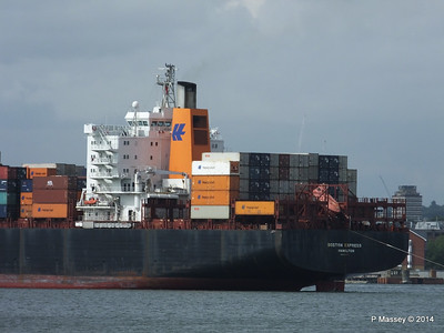 BOSTON EXPRESS Arriving Southampton PDM 05-07-2014 16-22-33