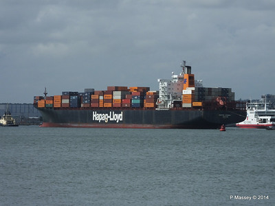 BOSTON EXPRESS Arriving Southampton PDM 05-07-2014 16-24-14