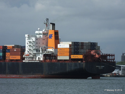 BOSTON EXPRESS Arriving Southampton PDM 05-07-2014 16-21-35