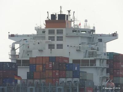 HOUSTON EXPRESS Departing Southampton PDM 19-07-2014 19-20-56