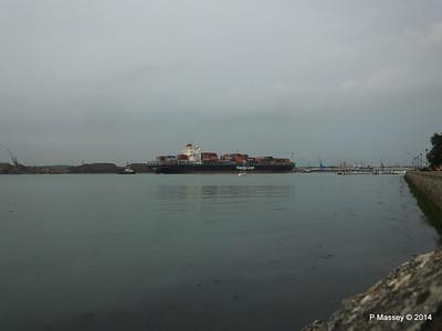 HOUSTON EXPRESS Departing Southampton PDM 19-07-2014 19-43-18