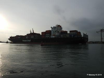 HOUSTON EXPRESS Departing Southampton PDM 19-07-2014 19-27-42