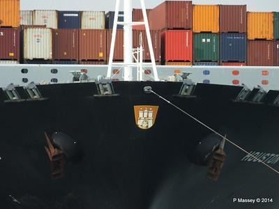 HOUSTON EXPRESS Departing Southampton PDM 19-07-2014 19-34-48