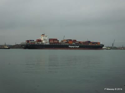 HOUSTON EXPRESS Departing Southampton PDM 19-07-2014 19-41-43