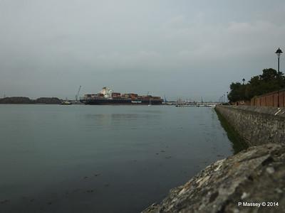 HOUSTON EXPRESS Departing Southampton PDM 19-07-2014 19-44-19