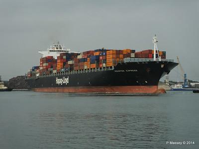 HOUSTON EXPRESS Departing Southampton PDM 19-07-2014 19-35-55