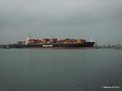 HOUSTON EXPRESS Departing Southampton PDM 19-07-2014 19-37-58