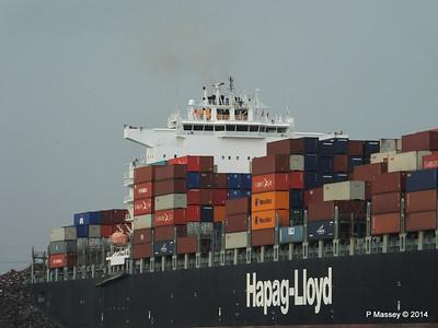 HOUSTON EXPRESS Departing Southampton PDM 19-07-2014 19-36-10