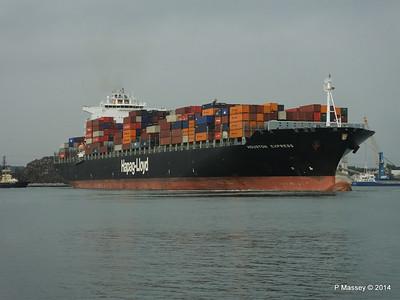 HOUSTON EXPRESS Departing Southampton PDM 19-07-2014 19-36-00